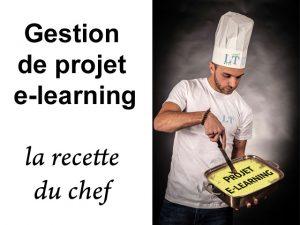 gestion de projet e-learning