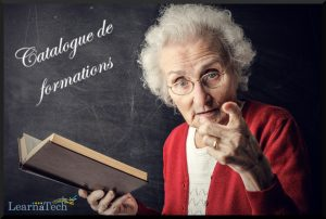 Catalogue des formations digital learning